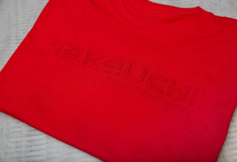 Red Takeuchi shirt