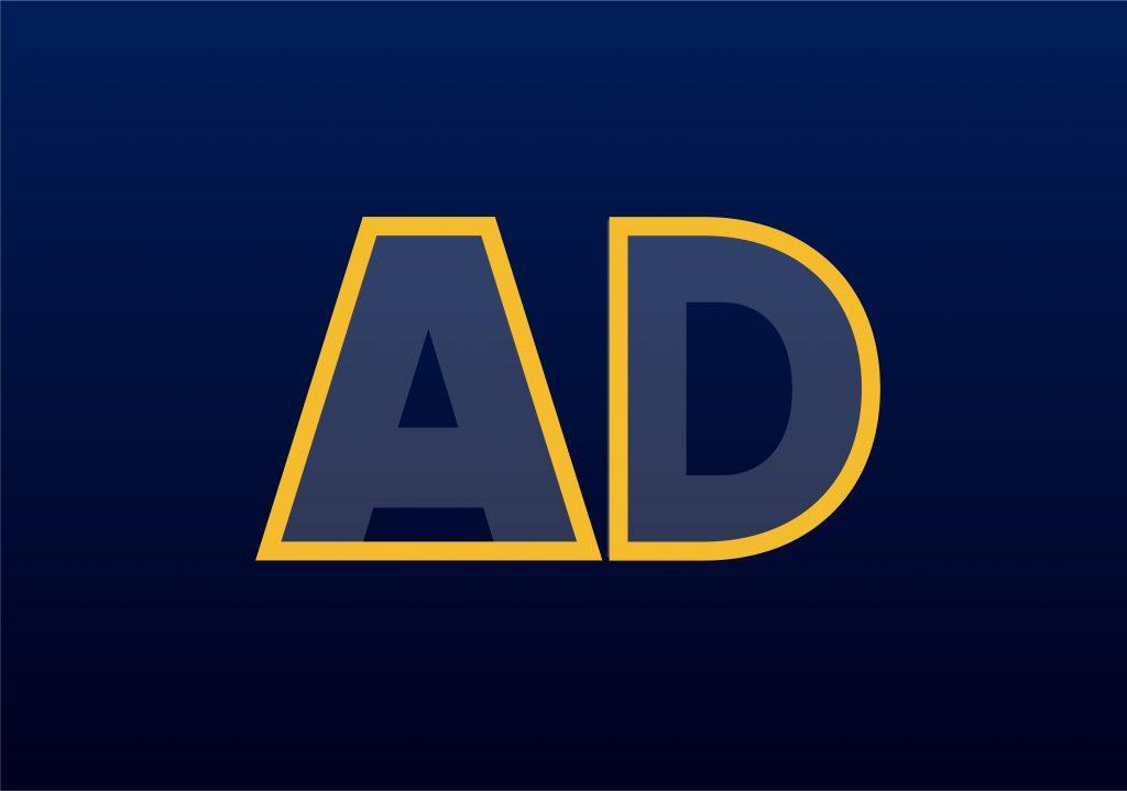 A.D. Logo base