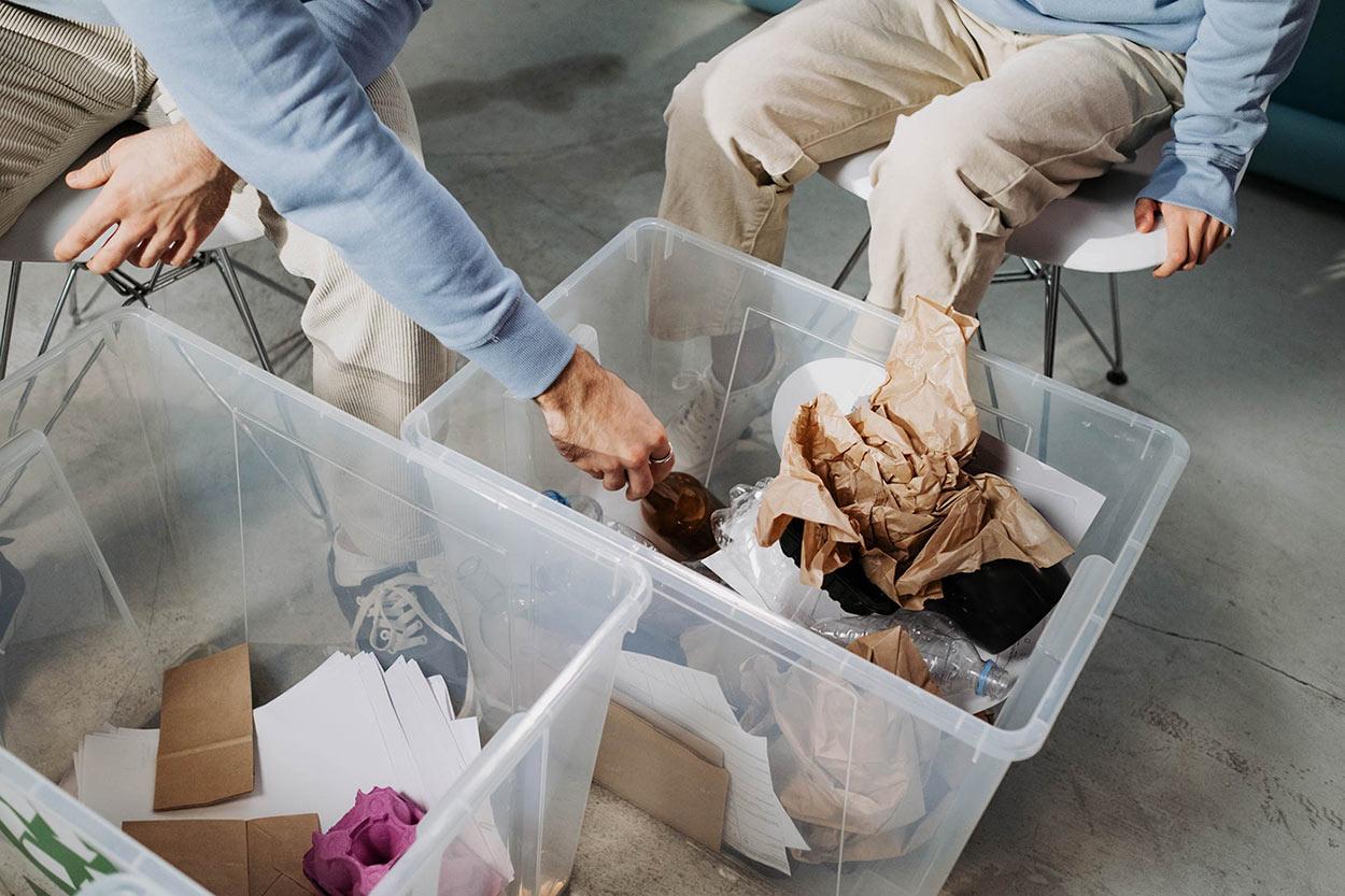 Business recycling ideas - A.D.