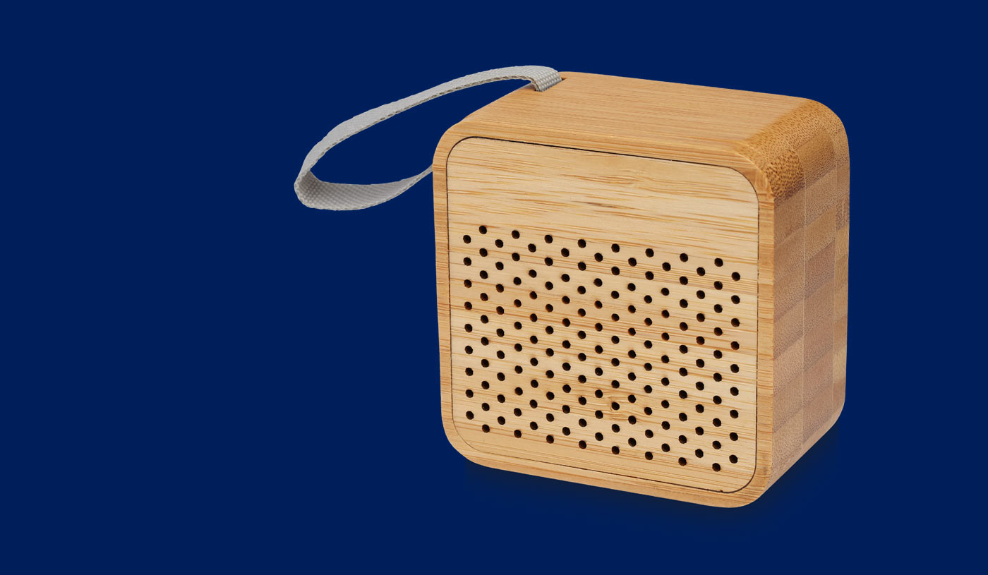 Lako bamboo Bluetooth® speaker - corporate gift