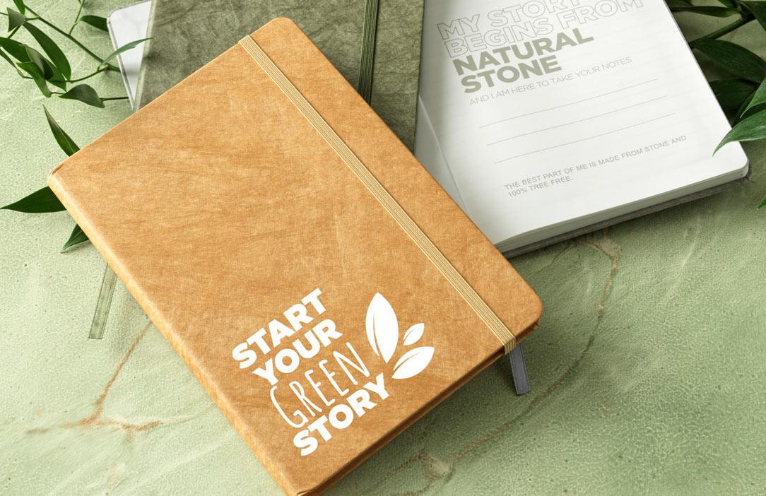 Breccia A5 stone paper notebook - corporate gift