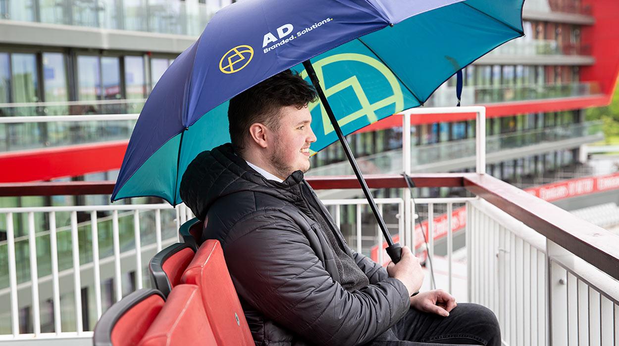 A.D. Branded Umbrella